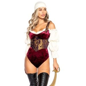 Sexy Pirate costume 🖤⚔️